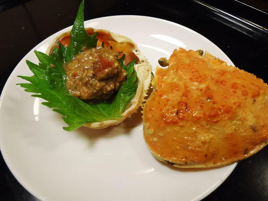 セコガニの味噌